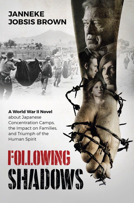Following Shadows: A World War II novel about Japanese Concentration Camps, the Impact on Families, and Triumph of the Human Spirit